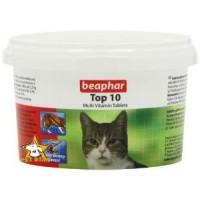 مولتی ویتامین تاپ 10 گربه محصول Beaphar هلند