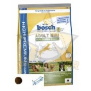 غذاي خشك سگ مرغ و اسپلت سگ بالغ 1 كيلويي محصول بوش Bosch آلمان High Premium